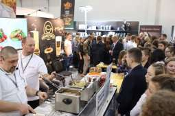 The Cuisine of the United States, bread and wine - HORECA® trade fair in Krakow
